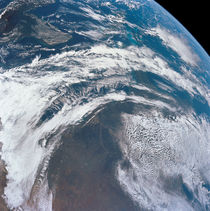 Earth as seen from the Apollo 12 spacecraft. von Stocktrek Images