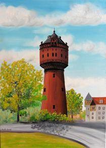 Wasserturm Torgau von Barbara Kaiser