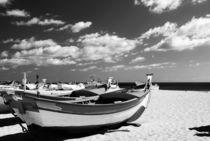 'Fischerboot am Strand' by Nicola Furkert