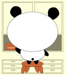 Motivational panda by kourai