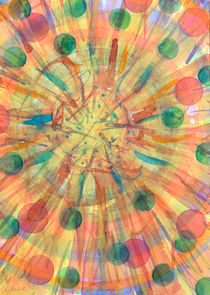 Ball Explosion  by Heidi  Capitaine