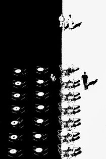 Blick vom Campanile by Inge Kirchberger