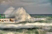 wild sea von Peter Bergmann