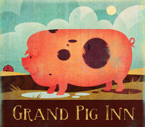 Grand Pig Inn by Benjamin Bay