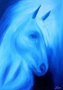 Sad Unicorn von lura-art