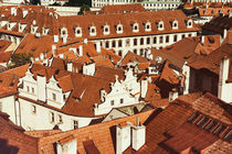 View over rooftops of the old town area von Frank Mitchell