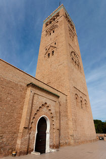Koutoubia Minaret, Marrakech, Morocco von kytefoto