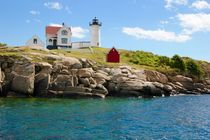 nubble lighthouse, cape Neddick by Luisa Azzolini
