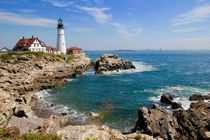 Cape Elizabeth, Portland head lighthouse by Luisa Azzolini