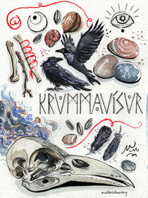 Raven Song von Julia Baraniecka