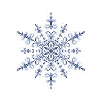 Art Nouveau Snowflake by tataniarosa