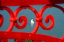 Durchblick Segelboot von EinWinkel Photography