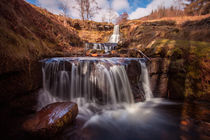 Blaen y Glyn waterfalls by Leighton Collins