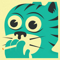SMOKING CAT von Jazzberry  Blue