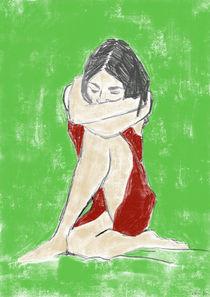 Denkende - eingekleideter Akt by Skadi Engeln