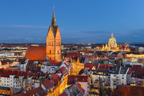 Old City of Hannover, Germany von Michael Abid