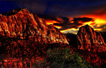 Zion-mountain-sunset-2