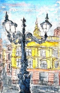 Kandelaber in London von Eberhard Schmidt-Dranske