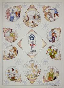 Special Olympics Poster von robert rob