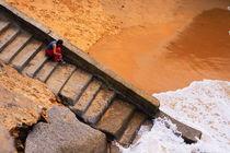 stairs to water von Lucja Lipinska