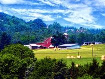 Farm in the Distance von Susan Savad