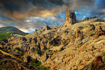 Rock Devil's Finger, Crimea by Yuri Hope