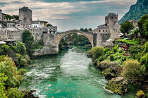 "Stari Most ""Old Bridge"" Mostar von Colin Metcalf"