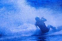 Wakeboarding in blue 4 von Marc Heiligenstein