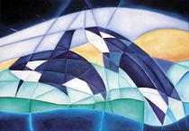 Orca 2 (Marmorismus) by Tomas Spahn