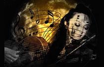 Musical Serenade von sylvia scotting