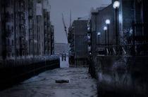River at night von sylvia scotting