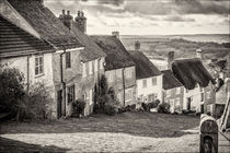 Gold Hill, Shaftesbury by Terence Amos