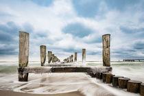 Buhne an der Ostseeküste by Rico Ködder