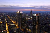 Frankfurt von oben by Patrick Lohmüller