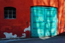 Red & turquoise von Thomas Matzl