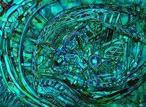 'Smaragd Magnet' von Werner Winkler