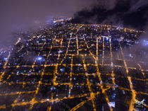 Night clouds by Andres del Castillo