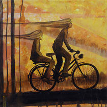 riding home von Anna Asche