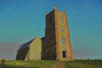 Hanbury Church by Malcolm Snook