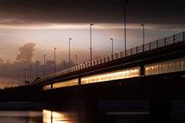 Loughor estuary road bridge von Leighton Collins