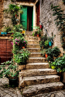 'Courtyard Steps' by Colin Metcalf