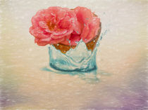 rose in spring  by louloua-asgaraly