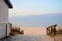 Weg zum Strand von moyo
