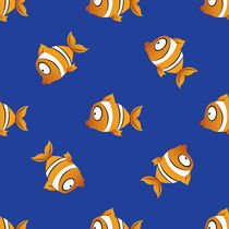pattern with fishes by Andrey Lipinskiy