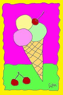 Eis mit Kirschen von lela