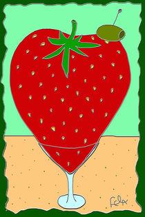 Erdbeermartini