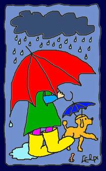 Regenkind von lela
