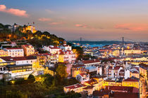 Lisbon Sunset by Michael Abid