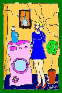 Moderne Hausfrau von lela