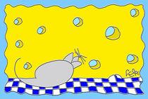 Maus mit Käse von lela